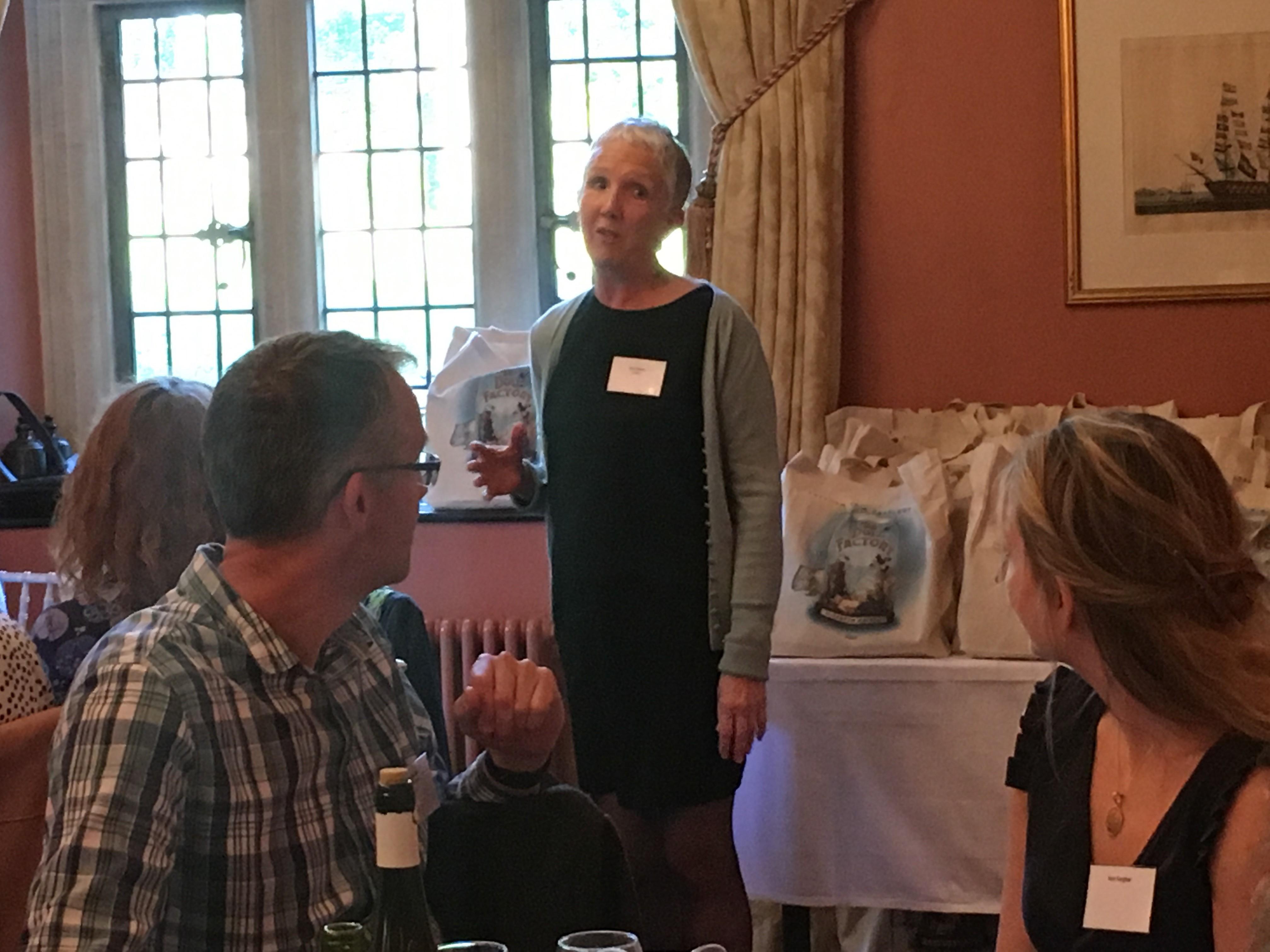 Ann Cleeves at Corsham Bookshop (June 2019)